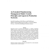 An extended manufacturing management model: control principles and aspects in production networks