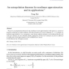 An extrapolation theorem for nonlinear approximation and its applications