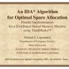 An IDA Algorithm for Optimal Spare Allocation