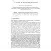 An Identity for Kernel Ridge Regression