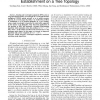 An improved algorithm for optimal lightpath establishment on a tree topology