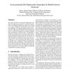 An Incremental Self-Deployment Algorithm for Mobile Sensor Networks