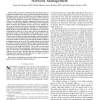 An information theoretic view of network management