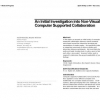 An initial investigation into non-visual computer supported collaboration