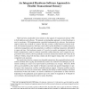 An integrated hardware-software approach to flexible transactional memory