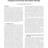 An integrated nonlinear placement framework with congestion and porosity aware buffer planning