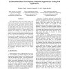 An Interaction-Based Test Sequence Generation Approach for Testing Web Applications