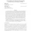 An Investigation into Mathematical Programming for Finite Horizon Decentralized POMDPs