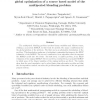 An MILP-MINLP decomposition method for the global optimization of a source based model of the multiperiod blending problem