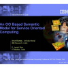 An OO based Semantic Model for Service Oriented Computing