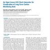An Open Source ECG Clock Generator for Visualization of Long-Term Cardiac Monitoring Data