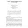 An Optimal Probabilistic Graphical Model for Point Set Matching