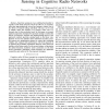 An Optimal Strategy for Cooperative Spectrum Sensing in Cognitive Radio Networks