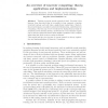 An overview of reservoir computing: theory, applications and implementations