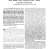 Analog beamforming in MIMO communications with phase shift networks and online channel estimation