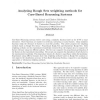 Analysing Rough Sets weighting methods for Case-Based Reasoning Systems