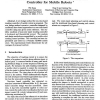 Analysis and Design of Non-Time Based Motion Controller for Mobile Robots