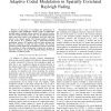 Analysis and Optimization of SIMO Systems with Adaptive Coded Modulation in Spatially Correlated Rayleigh Fading