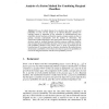 Analysis of a Fusion Method for Combining Marginal Classifiers