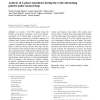 Analysis of A-phase transitions during the cyclic alternating pattern under normal sleep