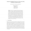 Analysis of Building Textures for Reconstructing Partially Occluded Facades