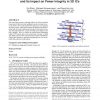 Analysis of DC current crowding in through-silicon-vias and its impact on power integrity in 3D ICs
