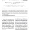 Analysis of dynamic properties of alternative sequences to the Petlyuk column