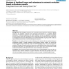 Analysis of feedback loops and robustness in network evolution based on Boolean models