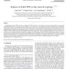 Analysis of hybrid P2P overlay network topology