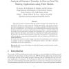 Analysis of resource transfers in peer-to-peer file sharing applications using fluid models