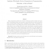Analysis of Stochastic Service Guarantees in Communication Networks: A Server Model