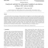 Analytical methods for polynomial weighted convolution surfaces with various kernels