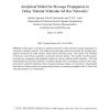 Analytical Model for Message Propagation in Delay Tolerant Vehicular Ad Hoc Networks