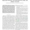 Analytical Modelling of IEEE 802.15.4 for Multi-Hop Networks with Heterogeneous Traffic and Hidden Terminals