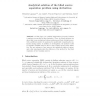 Analytical Solution of the Blind Source Separation Problem Using Derivatives