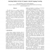 Analyzing Student Activity in Computer Assisted Language Learning