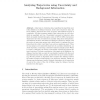 Analyzing Trajectories Using Uncertainty and Background Information