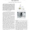 Angle control of a loosely coupled mechanism in 3D space using length sensors