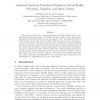 Animated Agents for Procedural Training in Virtual Reality: Perception, Cognition, and Motor Control