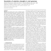 Annotation of selection strengths in viral genomes