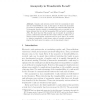 Anonymity in Transferable E-cash