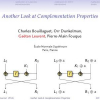 Another Look at Complementation Properties