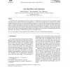 Ant algorithms and stigmergy