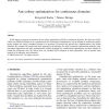 Ant colony optimization for continuous domains