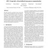 AP3: cooperative, decentralized anonymous communication