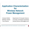 Application Characterization for Wireless Network Power Management