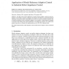 Application of Model Reference Adaptive Control to Industrial Robot Impedance Control