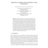 Application of Reduce Order Modeling to Time Parallelization