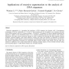 Applications of Recursive Segmentation to the Analysis of DNA Sequences