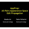 AppProp: all-pairs appearance-space edit propagation